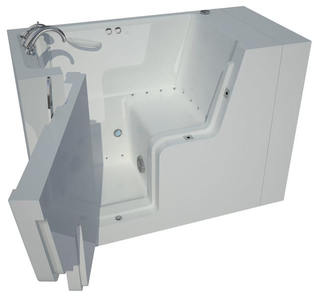 29 x 53 Wheelchair Accessible Walk-In Bathtub w/ Whirlpool & Air ...