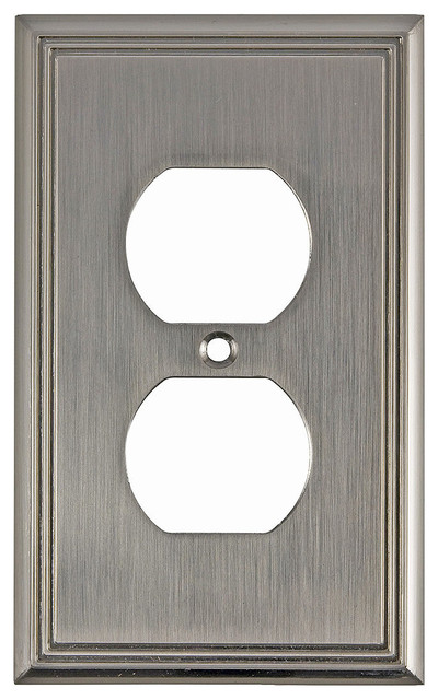 Switch Plate Double Receptacle