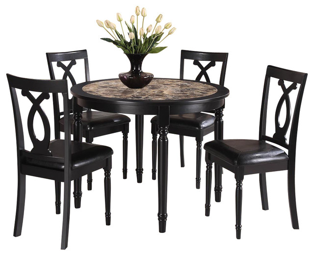 Homelegance 5 Dining Set 187 Homelegance Hahn 5 Marble Top  : traditional dining sets from 45.77.210.35 size 640 x 522 jpeg 70kB