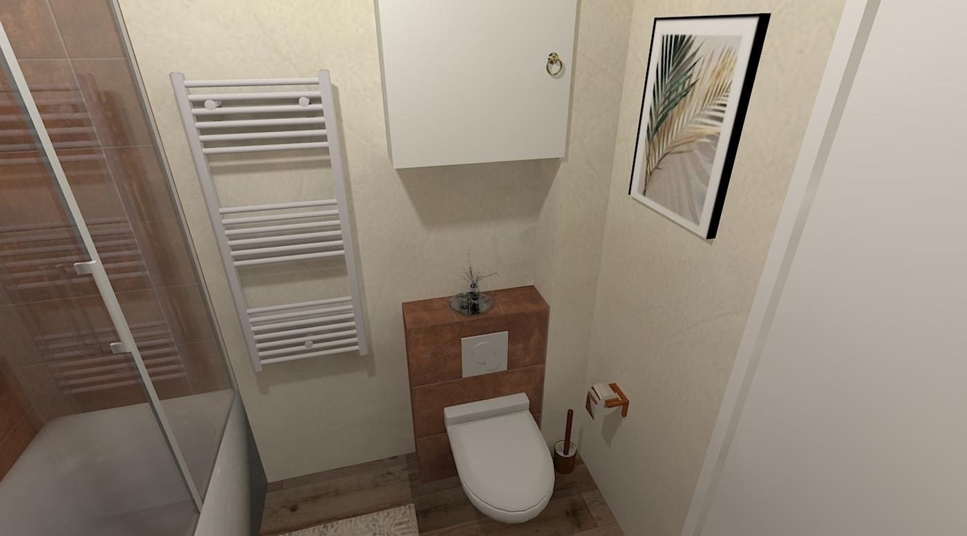 Aménagement d'une maison dans l'Oise - salle de bain