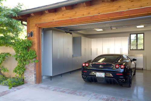 Are these custom garage storage units or ready made?