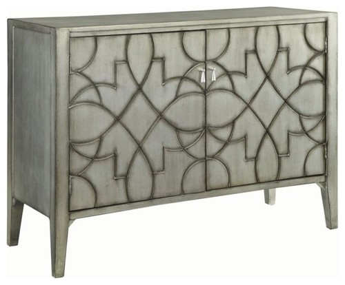 Bowery Hill Accent Cabinet, Gray