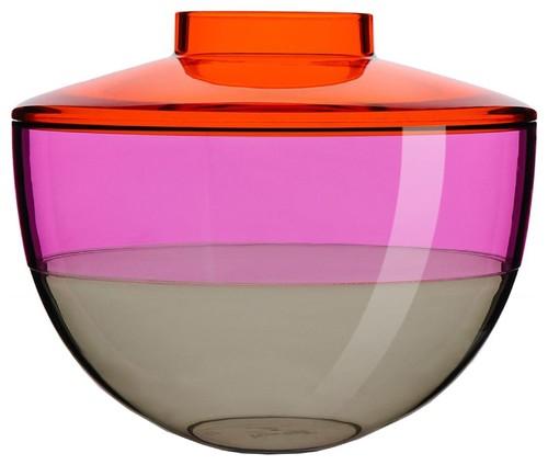 Shibuya Vase orange/violett/rauch, Kartell