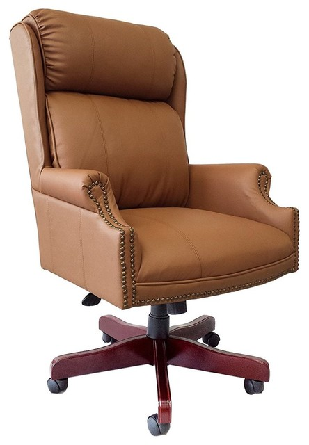 Executive Chair Real Leather
