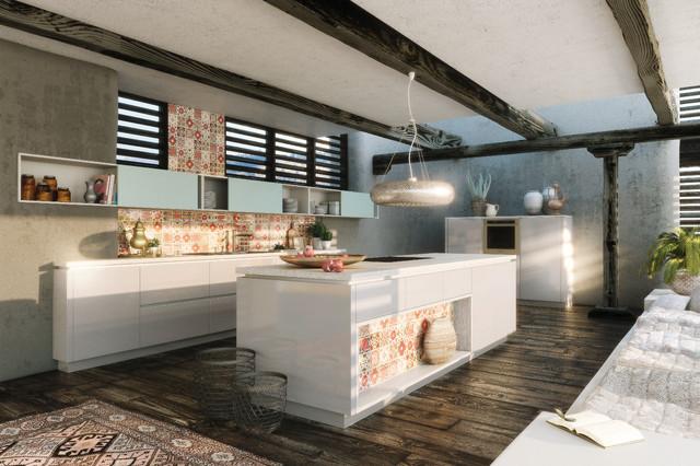 k cheninsel. Black Bedroom Furniture Sets. Home Design Ideas