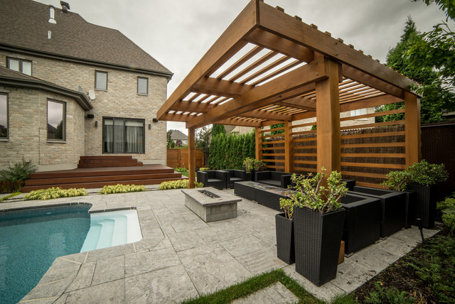 Pergola Modern Laval Modern Other By Purpatio Ca