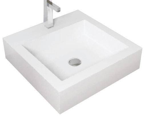 Badeloft Stone Resin Countertop Sink
