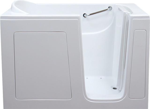 Pearl Series Walk In Tub, White, Soaking, Right Hand