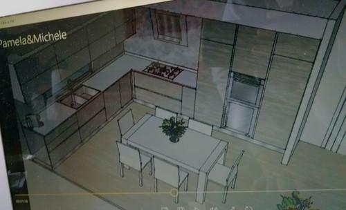 Cucina da definire pensili sopra finestra - Porta finestra misure ...