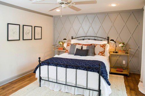 Master Bedroom Rug from Fixer Upper