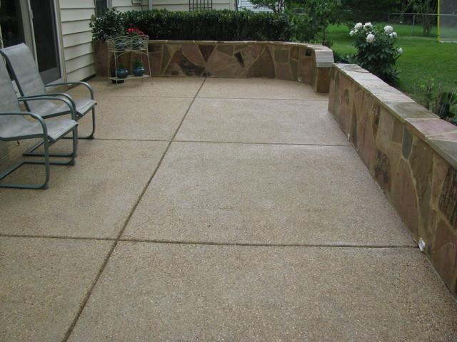 Decorative Concrete Patio Ideas - Patio - Kansas City - by ... on Patio Surfaces Ideas id=55424