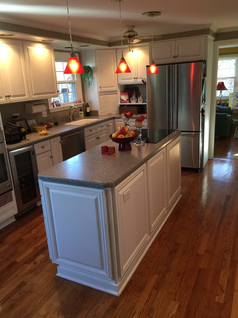 Cabinet Refacing With White Cabinets