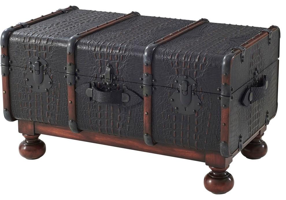 Theodore Alexander The Kalahari Steamer Trunk ...