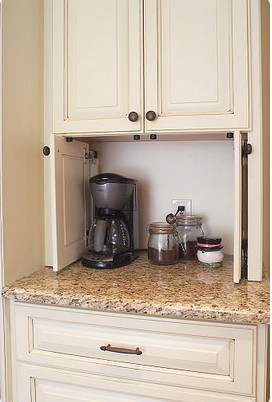 Tall Cabinet For Coffee Toaster Microwave