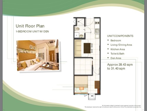 1br 28 sq m condo for 8 sqm room design