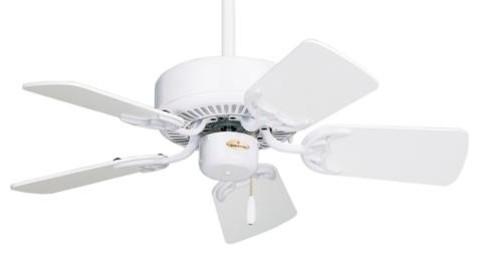 "29"" Northwind 29 Ceiling Fan, Gloss White."