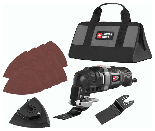 Porter Cable 3.0 Amp Oscillating Multi-Tool Kit.
