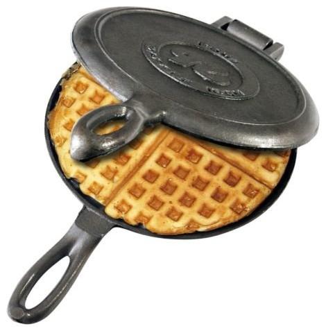 Rome Old Fashioned Waffle Iron, Cast Iron.
