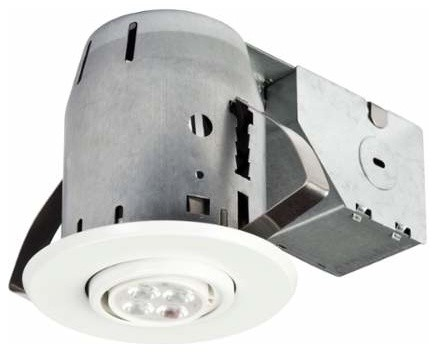 Globe Electric 90717 LED 3  Recessed Lighting Kit transitional-recessed- lighting  sc 1 st  Houzz : 3 inch led recessed lights - azcodes.com