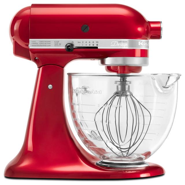Artisan Designer Series Stand Mixer, Candy Apple Red