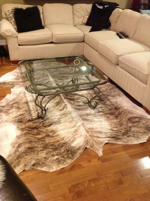 Cowhide Rug Not As Cozy As I Had Hoped