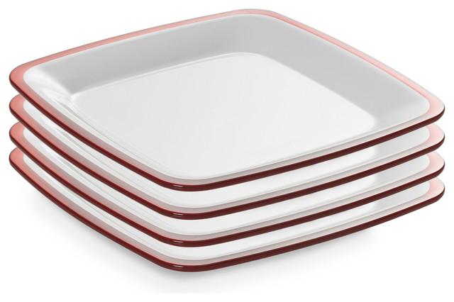 Set of 4 Dinner Plates Contemporary Dinner Plates by  : contemporary dinner plates from www.houzz.com size 640 x 426 jpeg 55kB