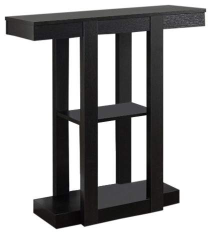 Monarch Specialties Accent Table, 32, Cappuccino Hall Console, I2454.