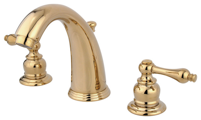 "Signature Hardware Victorian Widespread Bathroom Faucet: Victorian 2 Handle 8""-16"" Widespread"