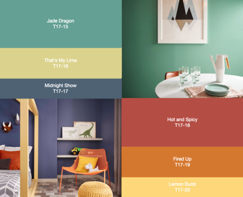 A Couple Of Paint Companies Are Promoting Slew Colors For 2017 Rather Than Just One Behr Has Chosen 20 Hues That Divided Into Three Categories