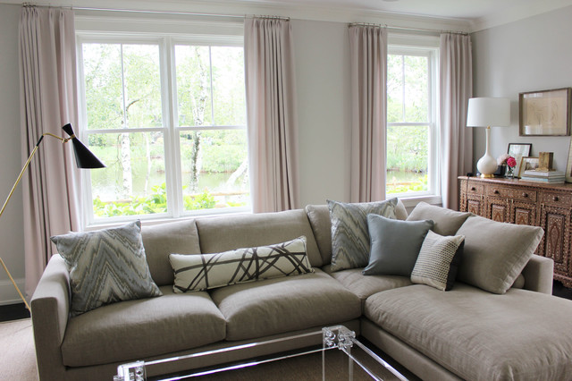 Custom Cushions and Pillows by Lynn Chalk - Contemporary - New York ...