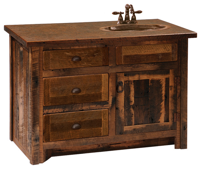 Barnwood Vanity 3 39 Barnwood Edged Laminate Top Sink Center Barnwood Legs Vanity Tops And