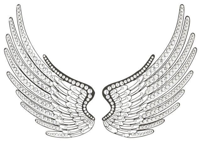 Heavenly Wings Wall Decor. -1
