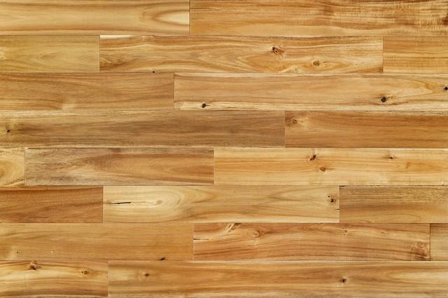 Hardwood Flooring-Handscraped Acacia, Chai Beige.