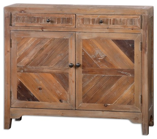 Hesperos Reclaimed Wood Console Cabinet By Designer Matthew Williams