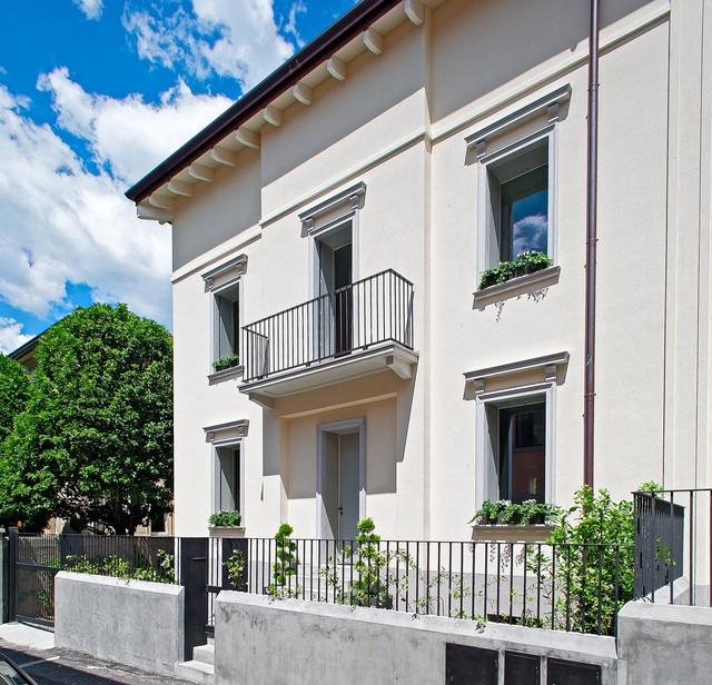 Immagine di case e interni chic