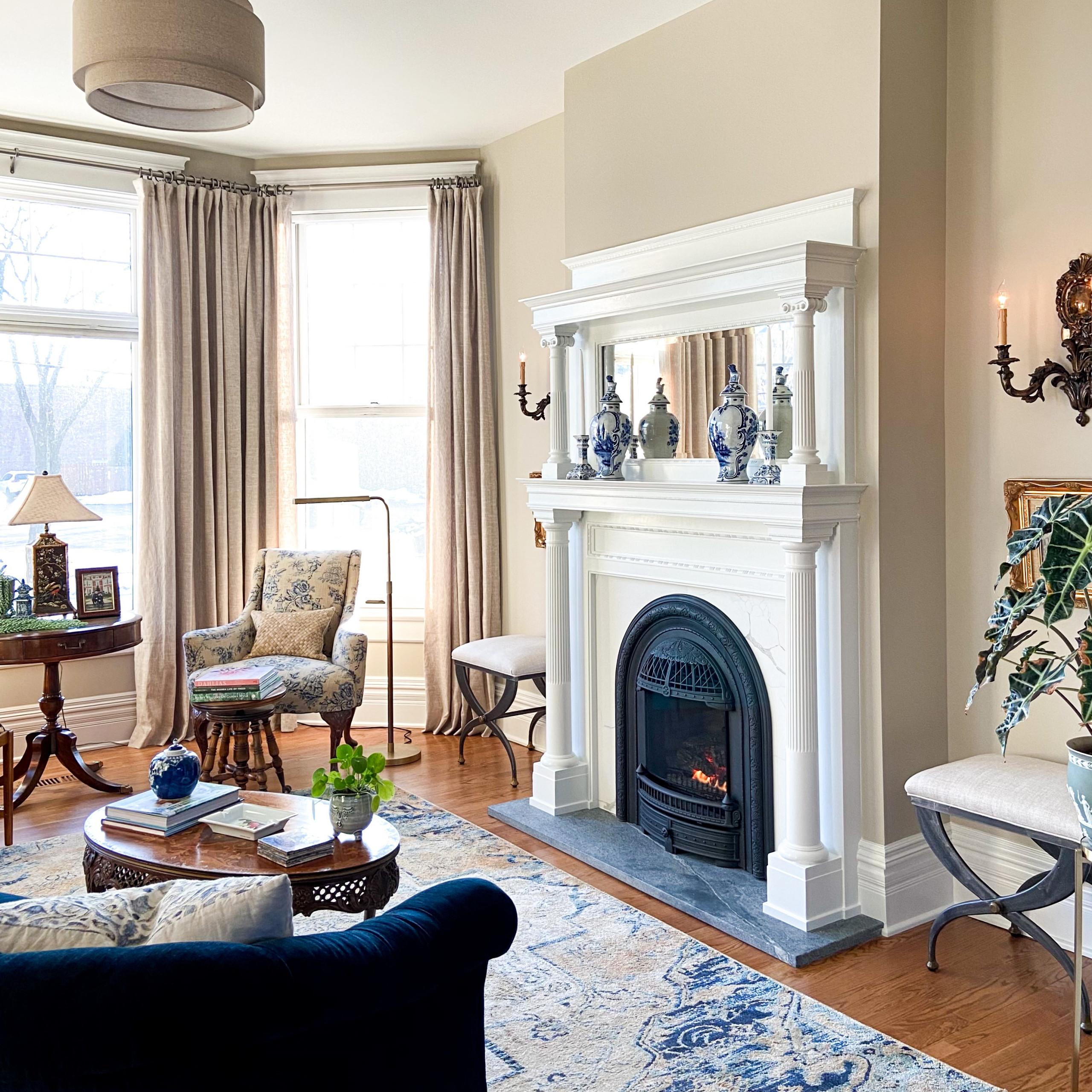 Plum Grove 1885 Fireplace