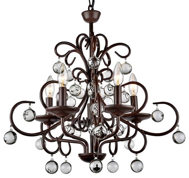 Kelly modern stylish crystal 5 light chandelier traditional kelly modern stylish crystal 5 light chandelier traditional chandeliers aloadofball Image collections