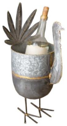 Galvanized Turkey Wine Chiller