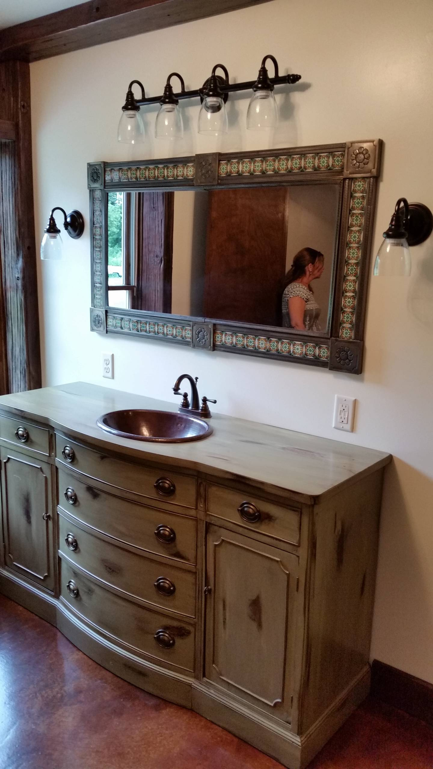 Rustic Bathroom from Start to Finish