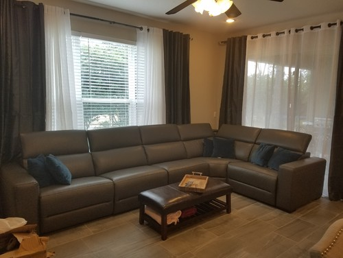 I need help decorating my family room into a warm space.