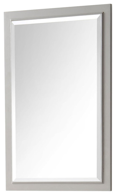 "Legion Furniture 24""x36"" Vanity Mirror, Cool Gray."