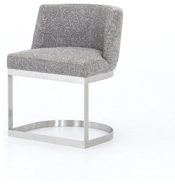 Groovy 30 25 Set Of Two Contemporary Dining Chair Bristol Charcoal Stainless Steel 10 Pdpeps Interior Chair Design Pdpepsorg