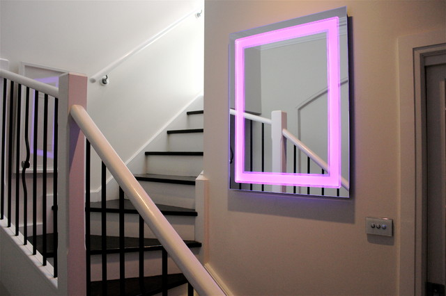 Art Deco Light Mirror Led Colour Changing Modern