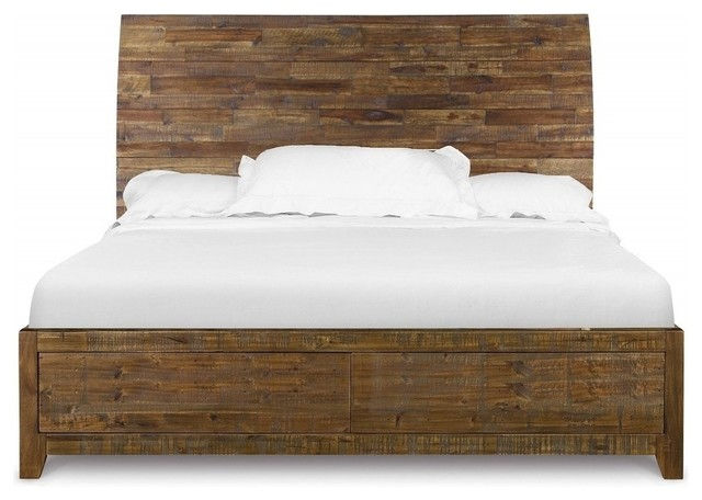 Magnussen River Road Island Bed - Transitional - Panel Beds - by ...