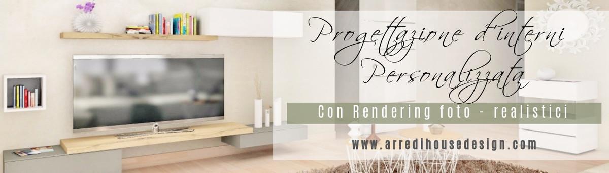 Progetto Living soggiorno : stile contemporaneo
