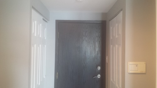 ... The Closet U0026 Laundry Doors Matching With Glass Panels Or Can It Be The  Same Door Style But With No Glass? It Is A Rather Small Front Hall (approx  10 X