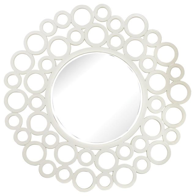 Elk Group Ring Framed Mirror.