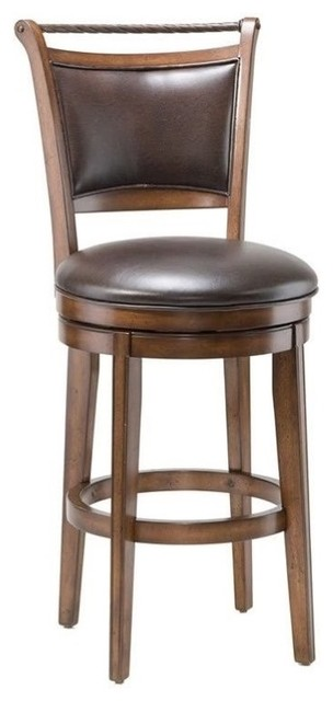 Toulouse Swivel Stool Transitional Bar Stools And