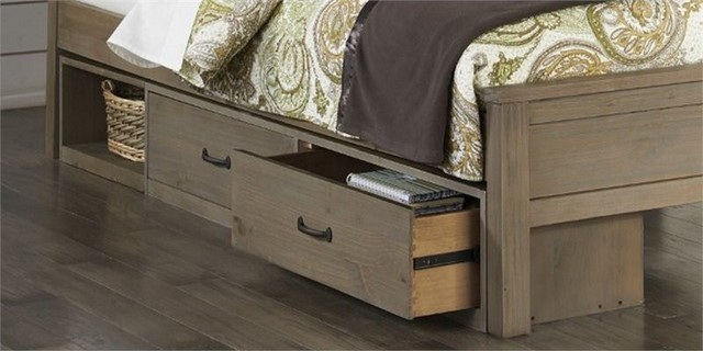 Ne Kids Highlands 2-Drawer Underbed Storage, Driftwood.