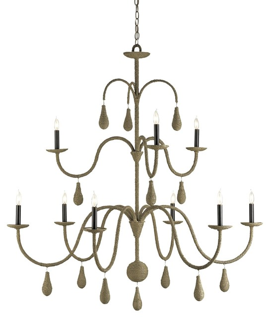 Currey And Company Durand Chandelier: Currey And Company Bayside Chandelier